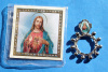 Sacred Heart of Jesus Rosary Ring