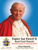 ** POLISH ** Special Limited Edition Collector's Series Commemorative Pope John Paul II Canonization Prayer Card (LARGE)