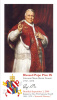Pope Pius IX Prayer Card