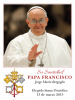 *SPANISH*  Pope Francis Prayer Card (LARGE)