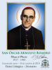 ***SPANISH***Special Limited Edition Collector's Series Commemorative Archbishop Oscar Romero Canoni