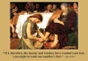 Holy Thursday Works of Mercy Prayer Card